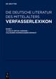 Verfasserlexikon: Die deutsche Literatur des Mittelalters