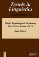Hittite Etymological Dictionary 8