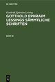 Gotthold Ephraim Lessing: Gotthold Ephraim Lessings Sämmtliche Schriften. Band 16