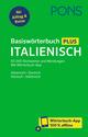 PONS Basiswörterbuch Plus Italienisch