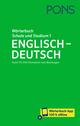 PONS Wörterbuch für Schule und Studium Englisch 1 - Englisch-Deutsch