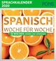 Spanisch Woche für Woche - PONS Sprachkalender 2020
