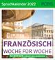 Französisch Woche für Woche - PONS Sprachkalender 2022