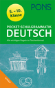 PONS Pocket-Schulgrammatik Deutsch