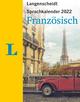 Langenscheidt Sprachkalender Französisch 2022