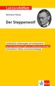 Klett Lektürehilfen Hermann Hesse 'Der Steppenwolf'