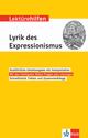 Klett Lektürehilfen Lyrik des Expressionismus