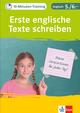 Klett 10-Minuten-Training Englisch Aufsatz Erste englische Texte schreiben 5./6. Klasse