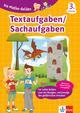 Klett Die Mathe-Helden Textaufgaben/Sachaufgaben 3. Klasse