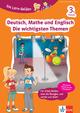 Klett Die Lern-Helden Deutsch, Mathe und Englisch - Die wichtigsten Themen 3. Klasse