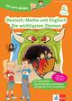 Klett Die Lern-Helden Deutsch, Mathe und Englisch - Die wichtigsten Themen 4. Klasse