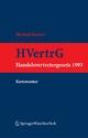Kommentar zum Handelsvertretergesetz (HVertrG 1993)