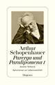 Parerga und Paralipomena: kleine philosophische Schriften I
