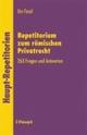 Repetitorium zum Römischen Privatrecht