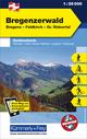 Bregenzerwald Outdoorkarte Österreich Nr. 1