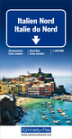 Italien Nord Strassenkarte