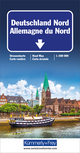 Deutschland Nord Strassenkarte