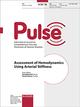 Assessment of Hemodynamics Using Arterial Stiffness