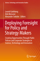Deploying Foresight for Policy and Strategy Makers