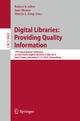 Digital Libraries: Providing Quality Information