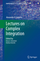 Lectures on Complex Integration