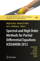 Spectral and High Order Methods for Partial Differential Equations - ICOSAHOM 2012