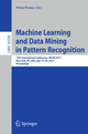 Machine Learning and Data Mining in Pattern Recognition