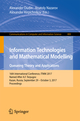 Information Technologies and Mathematical Modelling. Queueing Theory and Applications