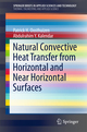 Natural Convective Heat Transfer from Horizontal and Near Horizontal Surfaces