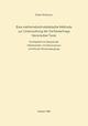Eine Mathematisch-Statistische Methode zur Untersuchung der Verfasserfrage Literarischer Texte