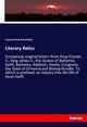 Literary Relics