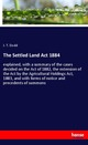 The Settled Land Act 1884