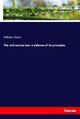 The civil service law: a defense of its principles