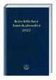 Kirchlicher Amtskalender - blau 2022