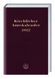 Kirchlicher Amtskalender - rot 2022