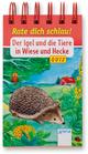Der Igel und die Tiere in Wiese und Hecke