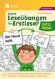 Kleine Leseübungen für Erstleser - Satzebene