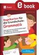 Regelkarten für die Grundschule Grammatik