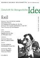 Zeitschrift für Ideengeschichte Heft II/1 Frühjahr 2008: Exil