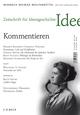 Zeitschrift für Ideengeschichte Heft III/1 Frühjahr 2009: