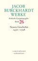 Jacob Burckhardt Werke 26