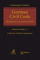 German Civil Code Volume I