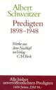 Predigten 1898-1948
