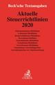 Aktuelle Steuerrichtlinien 2020