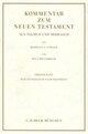 Kommentar zum Neuen Testament aus Talmud und Midrasch Bd. 1: Das Evangelium nach Matthäus