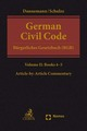 German Civil Code Volume II