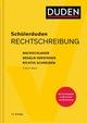 Schülerduden Rechtschreibung und Wortkunde (gebunden)
