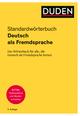 Duden Standardwörterbuch Deutsch als Fremdsprache
