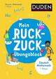 Mein Ruckzuck-Übungsblock Deutsch/Mathe 1. Klasse