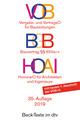 VOB/BGB/HOAI